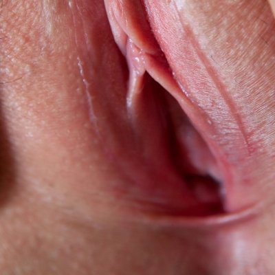 Close up of tight innie pussy